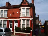 fully furn 3 bed end terr L13 8BL, dg, gch, popular location, viewing highly recommended