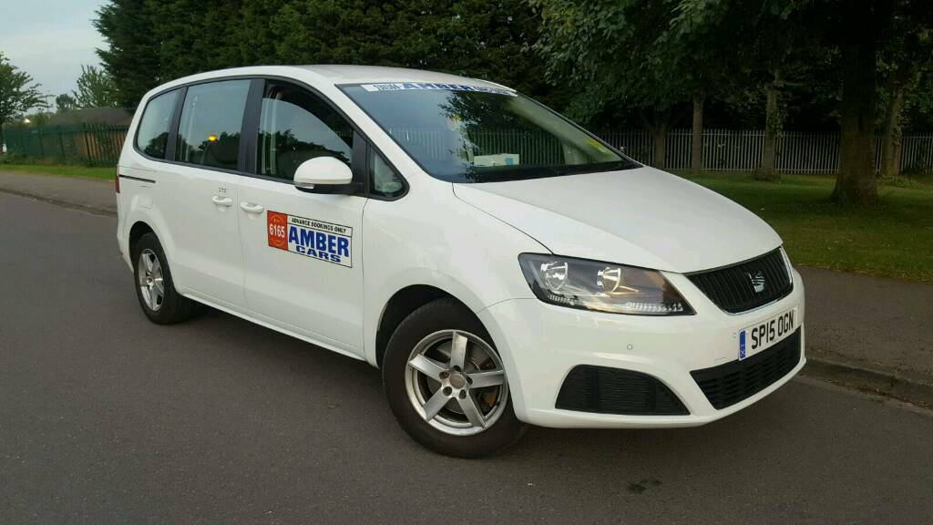 Seat alhambra texi plated leeds city council