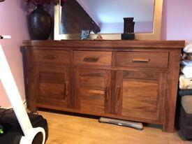 Large sideboard real wood