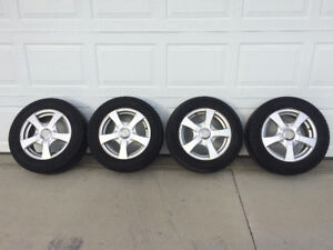 """15"""" Tires with Rims"""