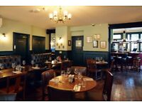 Trendy pub in the heart of Bow looking for talented part-time FOH Staff for both Bar & Floor
