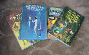 Four Hardy Boys Books