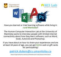 Rural Participants Needed for U of M Research!