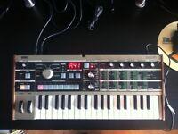 Korg Mikrokorg synthesiser keyboard