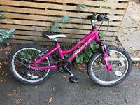 Ridgeback harmony pink bike virtually new