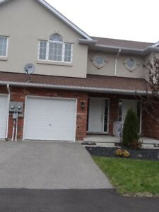 JUST FOR YOU ~ Townhouse for RENT in BRANTFORD~ Avail. SEPT 1st