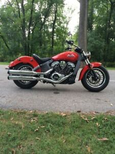 BEAUTIFUL 2016 INDIAN SCOUT