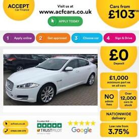 Jaguar XF Portfolio FROM £103 PER WEEK!