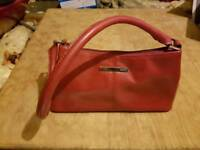 Red next handbag