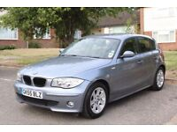 BMW 116i, UNDER 75,000 MILES, FULL SERVICE HISTORY, MOT 05/05/18, 4 NEW TYRES, REAR PARKING SENSORS