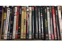 DVD selection - £1 each or 7 for £5