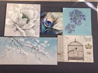 5 Canvas Prints - Various Sizes