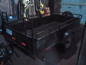 ***** NICE UTILITY TRAILER WITH RAMP *****