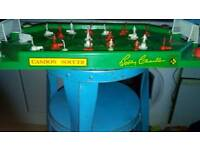 Bobby Charlton table football game