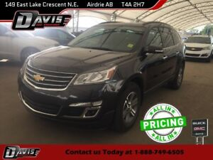 2017 Chevrolet Traverse 1LT REAR VISION CAMERA, DUAL SUNROOF,...