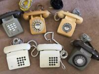 Old BT Phone Collection