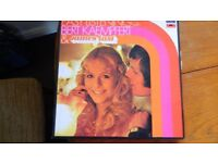 "Boxed set of LPs ""Bert Kaempfert & James Last """