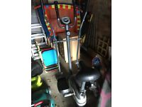 Body Sculpture 2 in 1 Crosstrainer and Exercise Bike