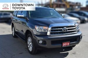 2015 Toyota Sequoia PLATINUM, ECP EXTENDED WARRANTY UNTIL JUNE O