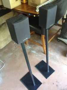 "Pioneer ""Rear"" 50 watt w/stands"