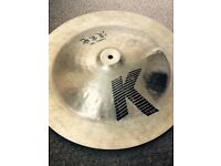 "Zildjian K China Boy 19""."