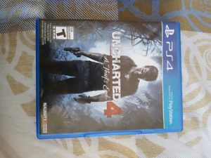 Uncharted 4 and The Division PS4