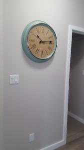 Modern Oversized Ikea Wall Clock For Sale!