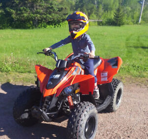 Youth ATV, new, with helmets and more