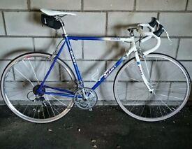 Vintage Giant Speeder steel frame road bike for sale, all new parts in full working order