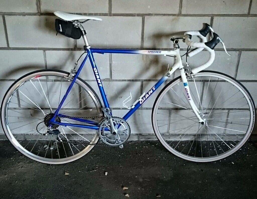 Vintage Giant Speeder Steel Frame Road Bike For Sale All