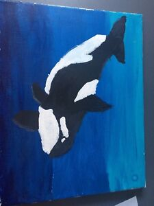 Orca painting