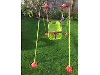 Baby Toddler Child Swing / Indoor Or Outdoor Garden