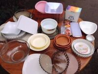 Job Lot Of Cookware/Platters/Dinnerware