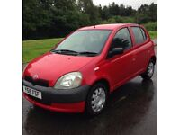 Toyota Yaris 1.0i GS , 2001 , ----- 11 Months MOT ----- , Immaculate Condition
