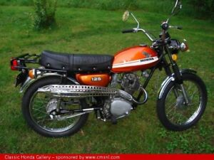 Wanted 67-74 Honda CL125 or CL100 or CL70