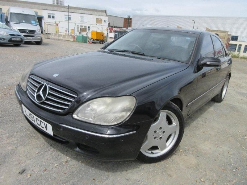 2002 Mercedes-Benz S Class 3.2 S320 CDI 4dr