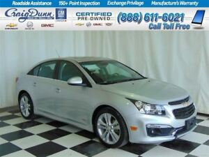 2015 Chevrolet Cruze 2LT RS * Sunroof * Leather *