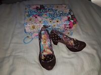 Irregular Choice Shoes size 5.5/38 BRAND NEW IN BOX