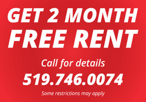 Two Months Free at 253 Lester St Unit 204!