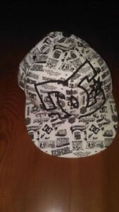Brand New DC Fitted Hat, Cap, Lid 6 7/8 - 7 1/4