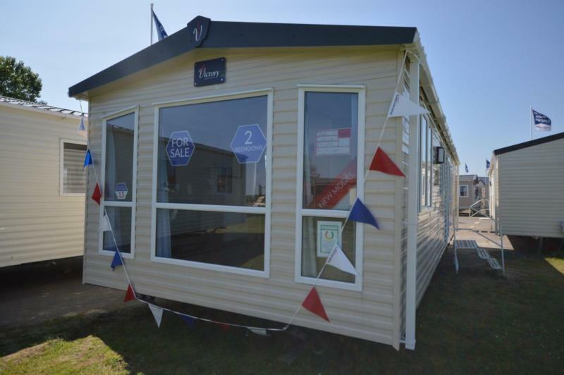 Static Caravan Whitstable Kent 2 Bedrooms 6 Berth Victory Echo 2017 Seaview