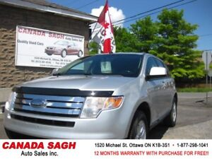 2010 Ford Edge GREAT DEAL SUV ! 12M.WRTY+SAFETY $7790