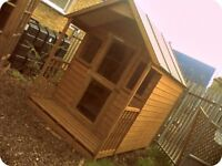 8 X 6 SUMMERHOUSE - TREATED, DELIVERED AND ASSEMBLED