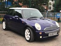MINI COOPER 1.6 PURLE NO OF FORMER KEEPERS 1 Full service history ++ 12 months mot