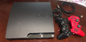 Playstation 3 Slim (160 GB, 2 controllers & 13 games)