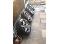BMW Z3m alloy wheels 7.5j 9j e36 e46