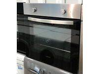 N212 stainless steel lamona single electric oven comes with warranty can be delivered or collected