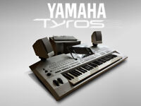 Yamaha Tyros-2 upgraded (512 MB RAM, hard drive) + speakers + manual + WARRANTY :: see delivery