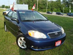 2008 Toyota Corolla CE Only 89km Sunroof Alloy No Accident