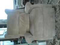 remote electric reclining armchair. very good condition . can deliver.
